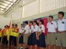 รุ่นน้องจัดทำซุ้มเสดงความยินดีและรับมอบธงประธานนักเรียน_10