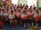 รุ่นน้องจัดทำซุ้มเสดงความยินดีและรับมอบธงประธานนักเรียน_1