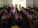 รุ่นน้องจัดทำซุ้มเสดงความยินดีและรับมอบธงประธานนักเรียน_2