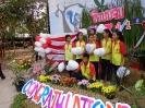 รุ่นน้องจัดทำซุ้มเสดงความยินดีและรับมอบธงประธานนักเรียน_3