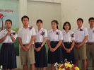 รุ่นน้องจัดทำซุ้มเสดงความยินดีและรับมอบธงประธานนักเรียน_8